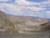 The first glimpse of the Pangong Tso lake after...