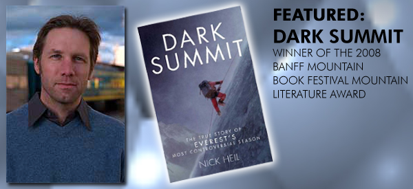 Nick Heil, award winning author of Dark Summit