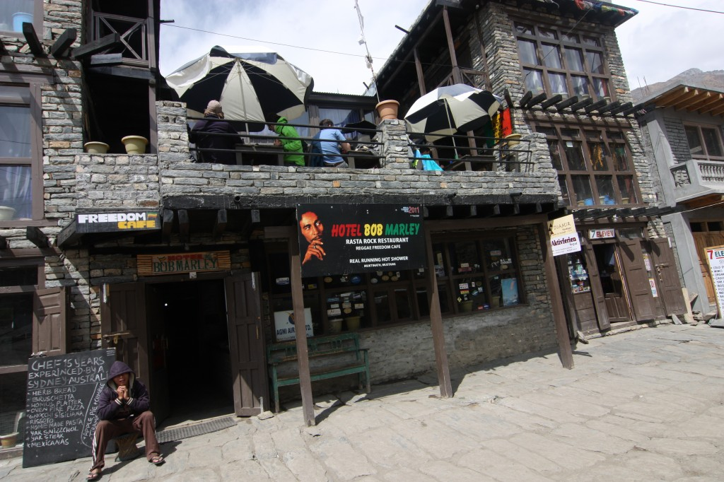 A Rasta Rock Restaurant in the mountains