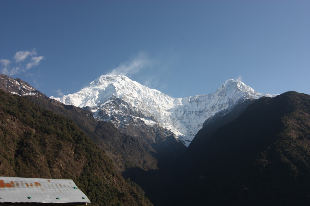 Annapurna South the next morning